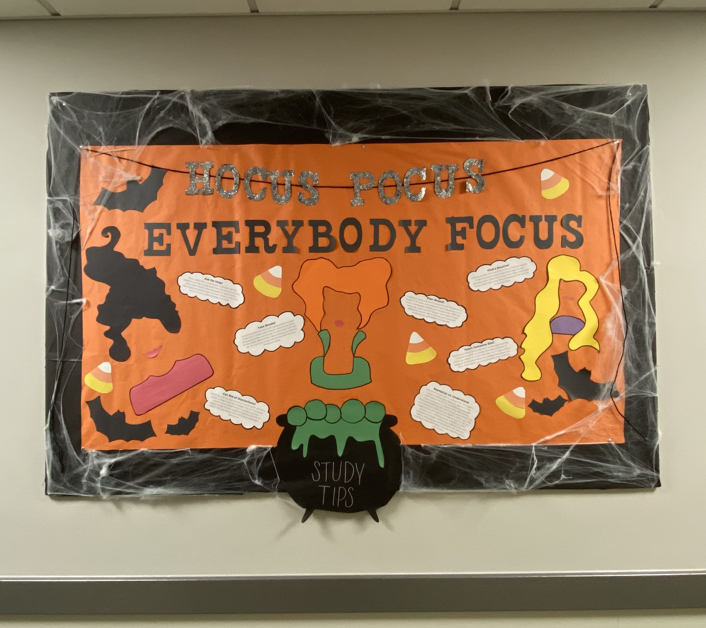 RA Halloween Bulletin Board #rabulletinboards
