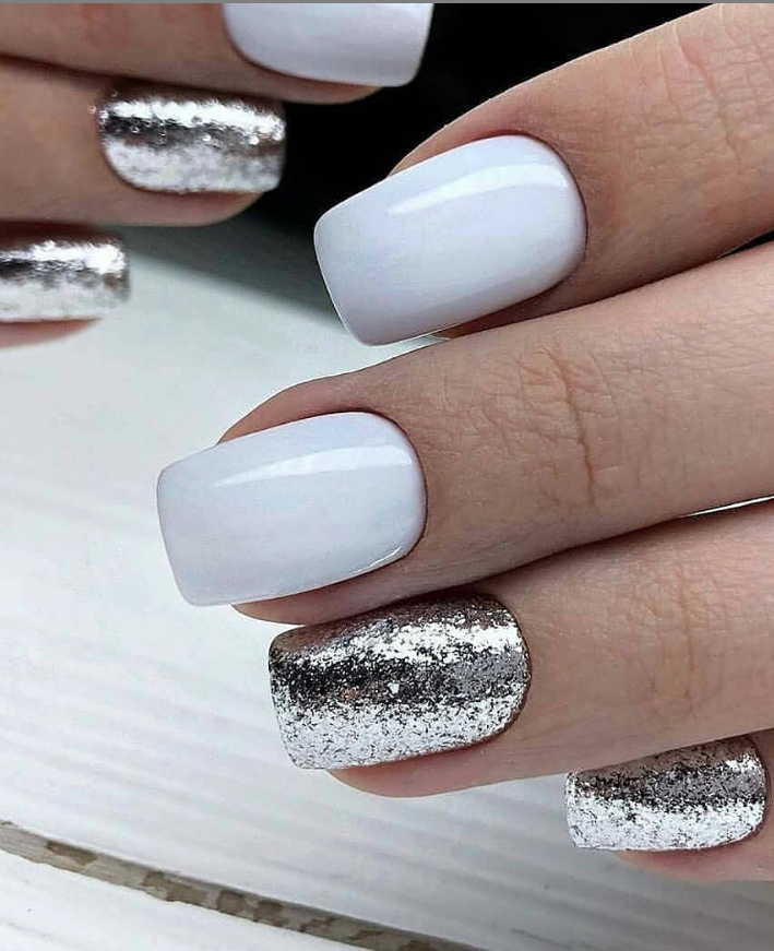 60 Lovely Short Acrylic Square Nails Design Ideas Spring & Summer – Page 54 of 58