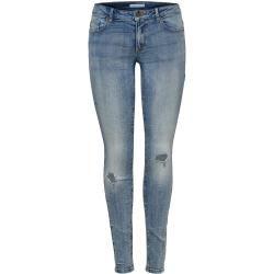 Photo of Solo jeans Onlflora Reg Skinny Fit Damen Blau Onlyonly