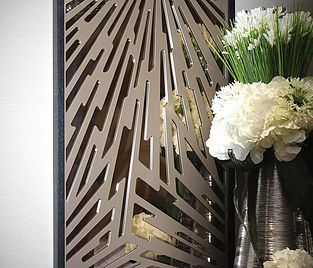 Miles and Lincoln | Laser cut screens, laser cut panels