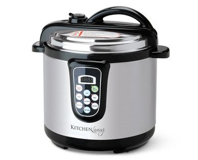 Kitchen Living 6-Quart Pressure Cooker | Books Worth Reading ...