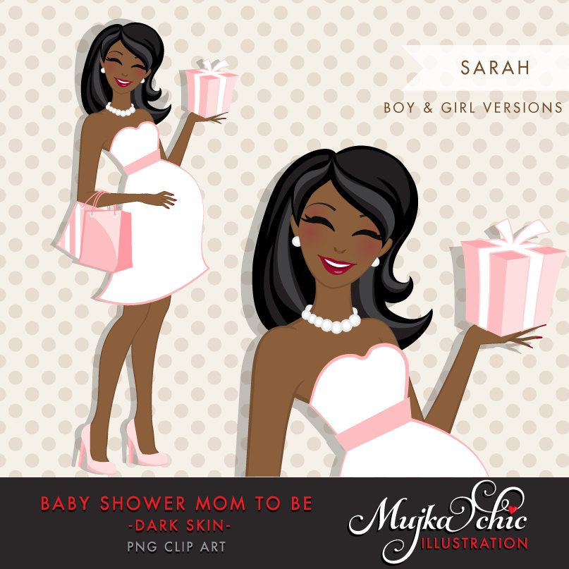 Afro Black Pregnant Mom Clipart For Baby Shower And Party Etsy Pregnant Mom Mom Clipart Bride Clipart