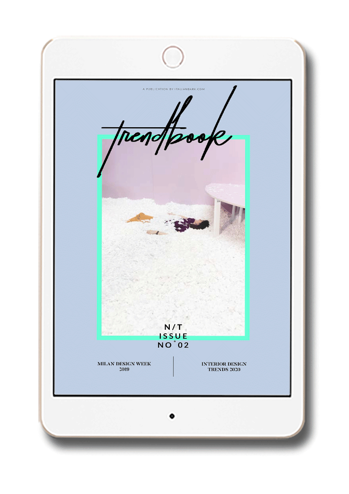 N/T # 2 is an eBook with the Latest Trends in Interior and Design, as seen at #milandesignweek 2019.  To last in 2020.  #trendbook #interiortrends #colortrend2020