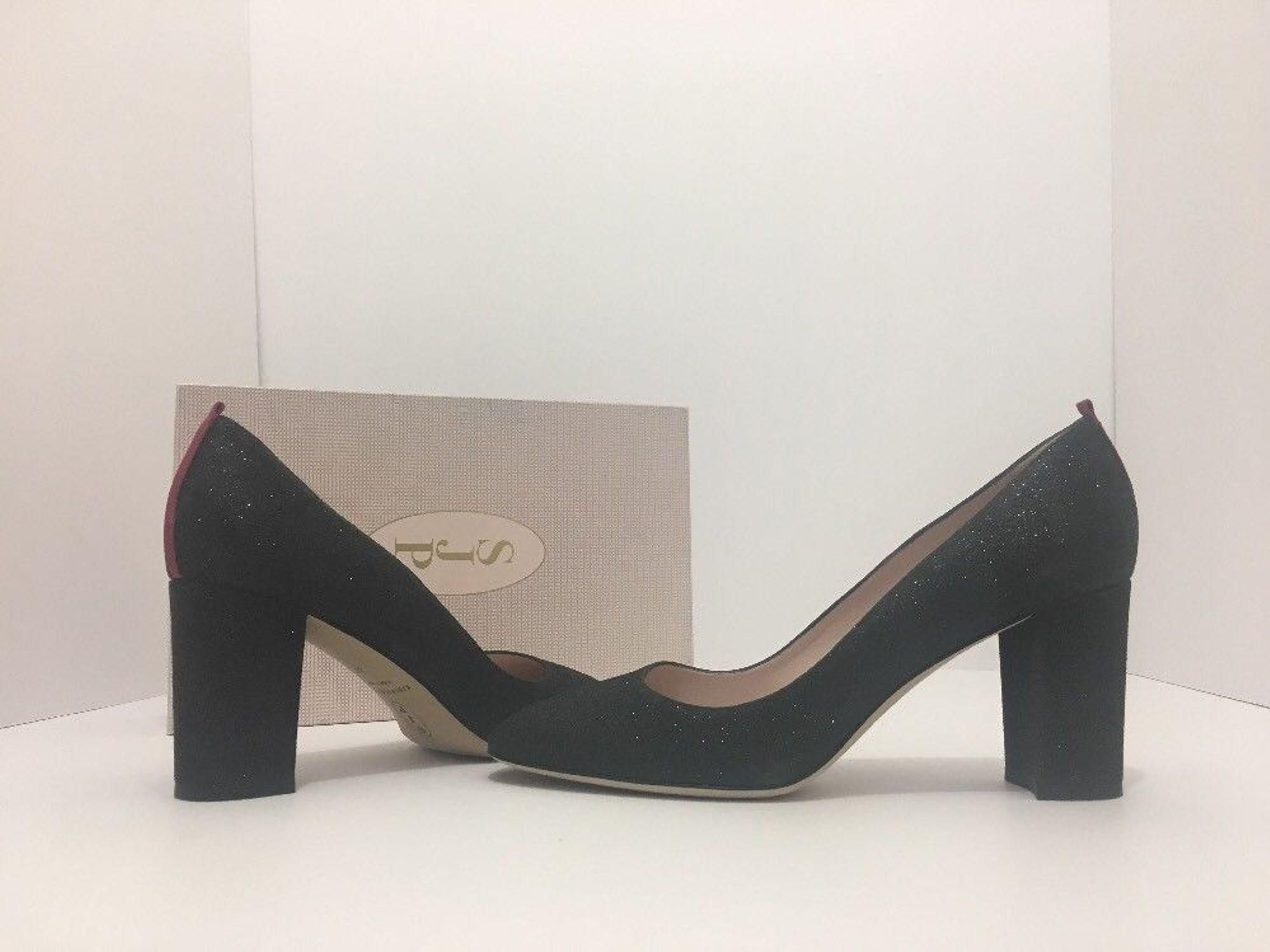 a878e632a955 Stuart Weitzman Nudist Black Goosebump Women s Dressy Evening Heels ...
