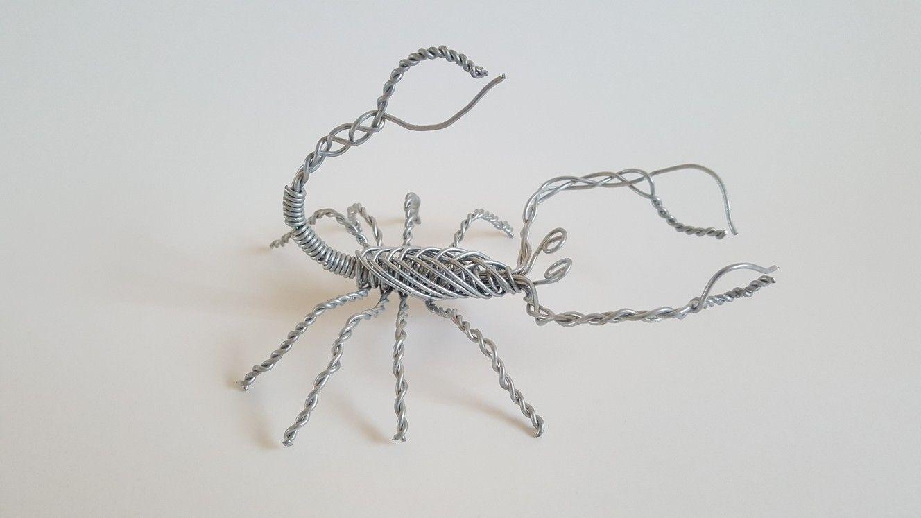 Wire scorpion   Handmade   Pinterest   Scorpion