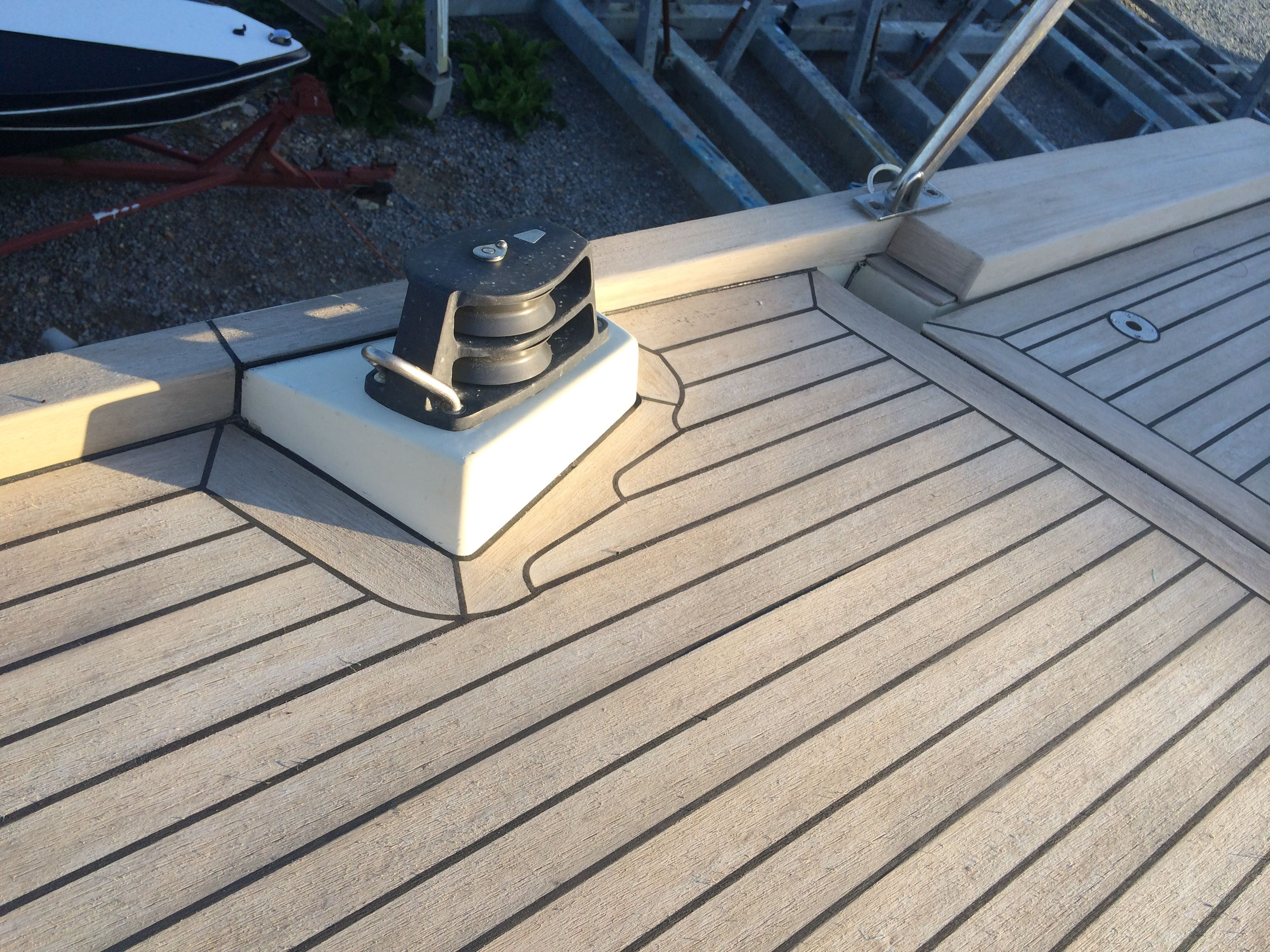 Wood For Boat Floor Synthetic Boat Deck Material Timber Deck