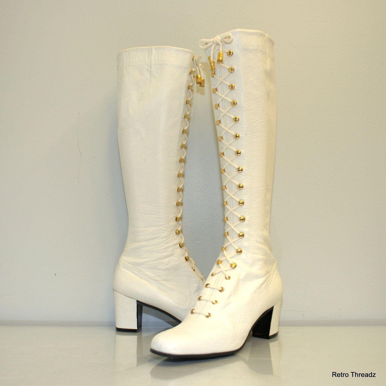 Saks Fifth Avenue Mod boots