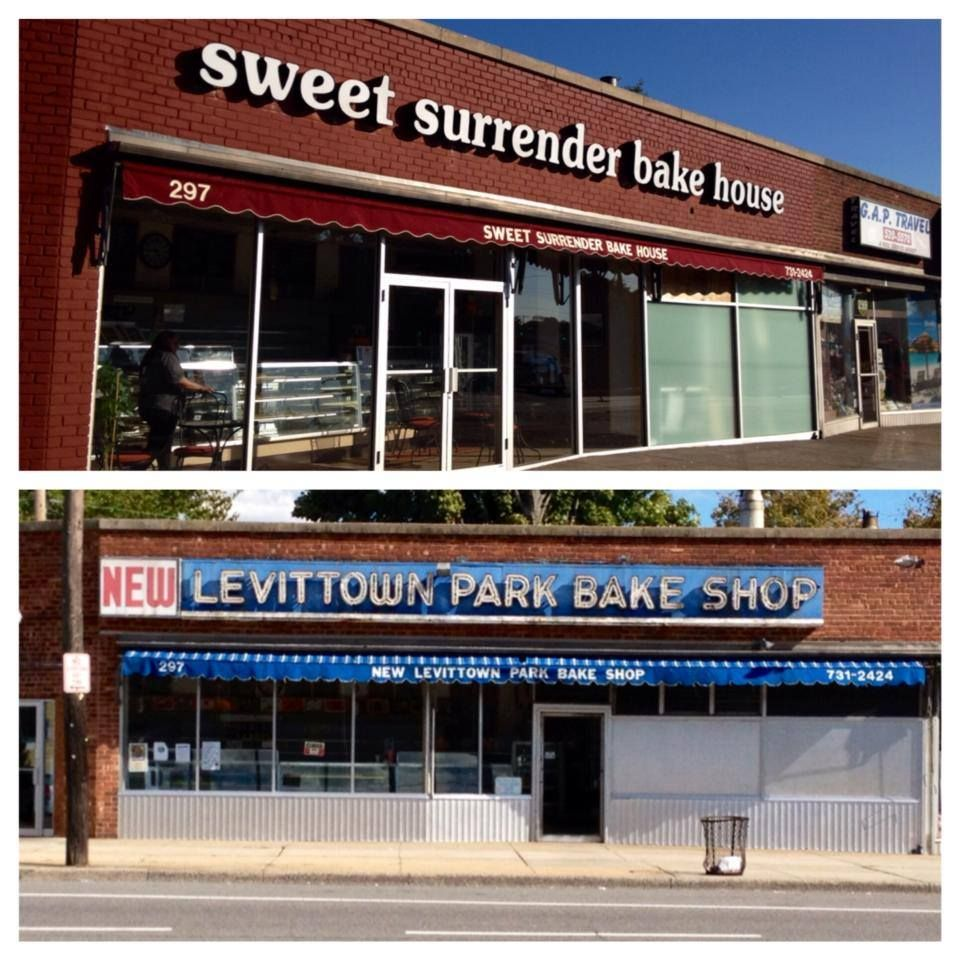 Iconic Levittown Bakery Gets A Facelift And Name Change Sweet Surrender Bake House Levittown Levittown Long Island Restaurants Restaurant Catering