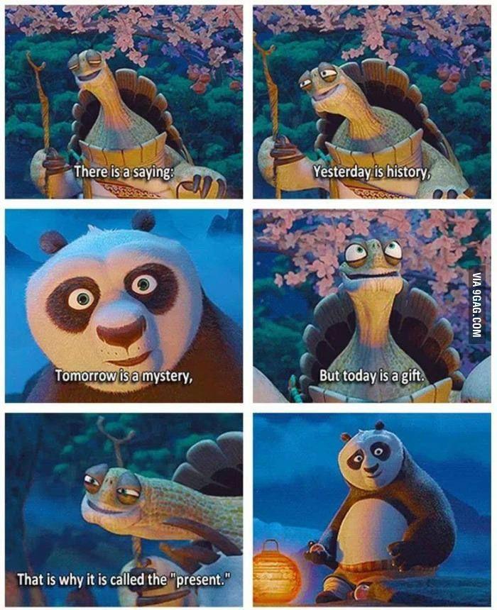 Present Cartoons Pinterest Kung Fu Panda Funny En Panda