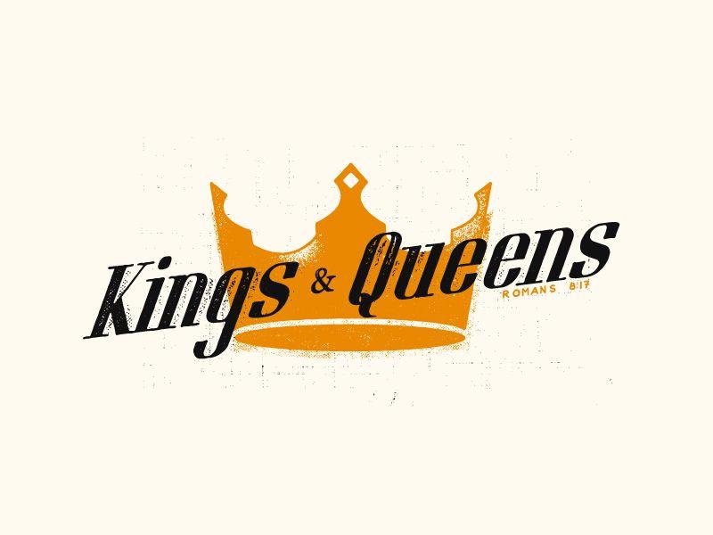 Fuente Kings And Queens: Logotypes, Logotipos Y Letras