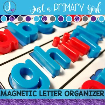 Magnetic Letter Template Magnetic Letters Letter Organizer Letter Templates