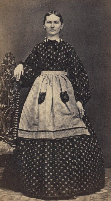 1840 working women clothing why not then main mid