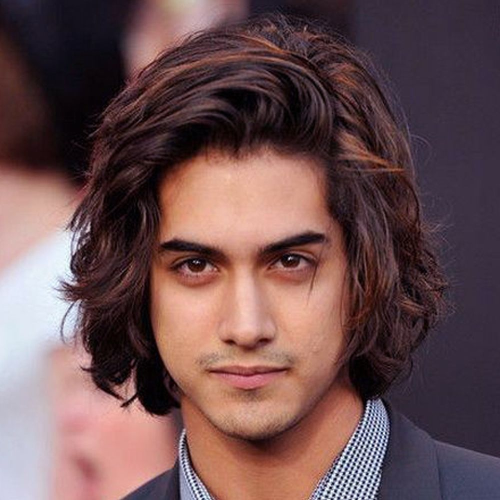 Long Hairstyles For Men With Wavy Hair Hairstyles For Men With Long Wavy  Hair