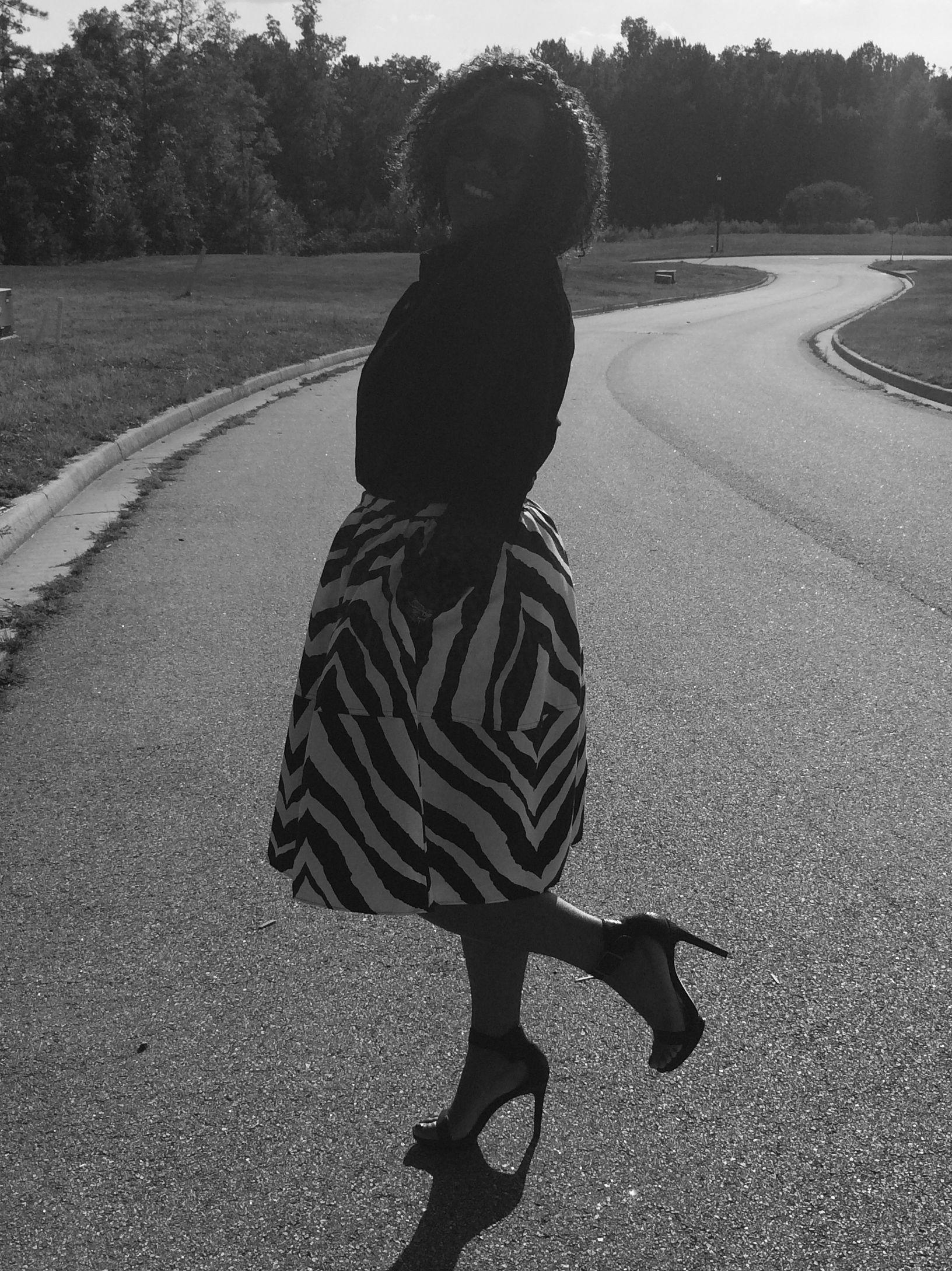 Full midi skirt! www.outoftheboxfashion.com