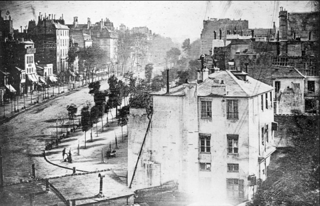 'Boulevard du Temple' 1838