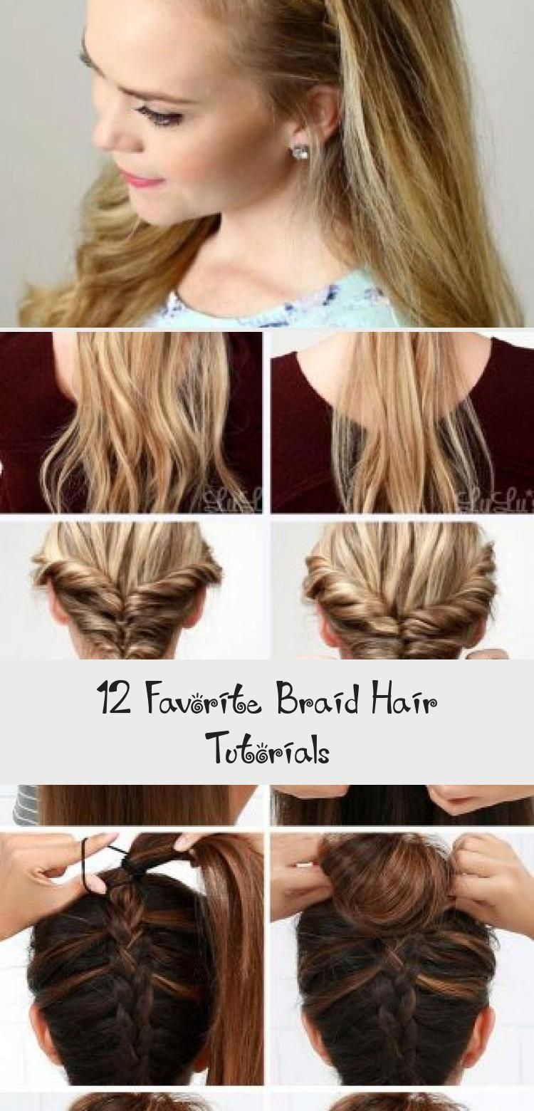 Hair Tutorials Are More Interesting When They Include Pictures That Allow You To Better Understan In 2020 Hair Tutorial Braided Hairstyles Tutorials Braided Hairstyles
