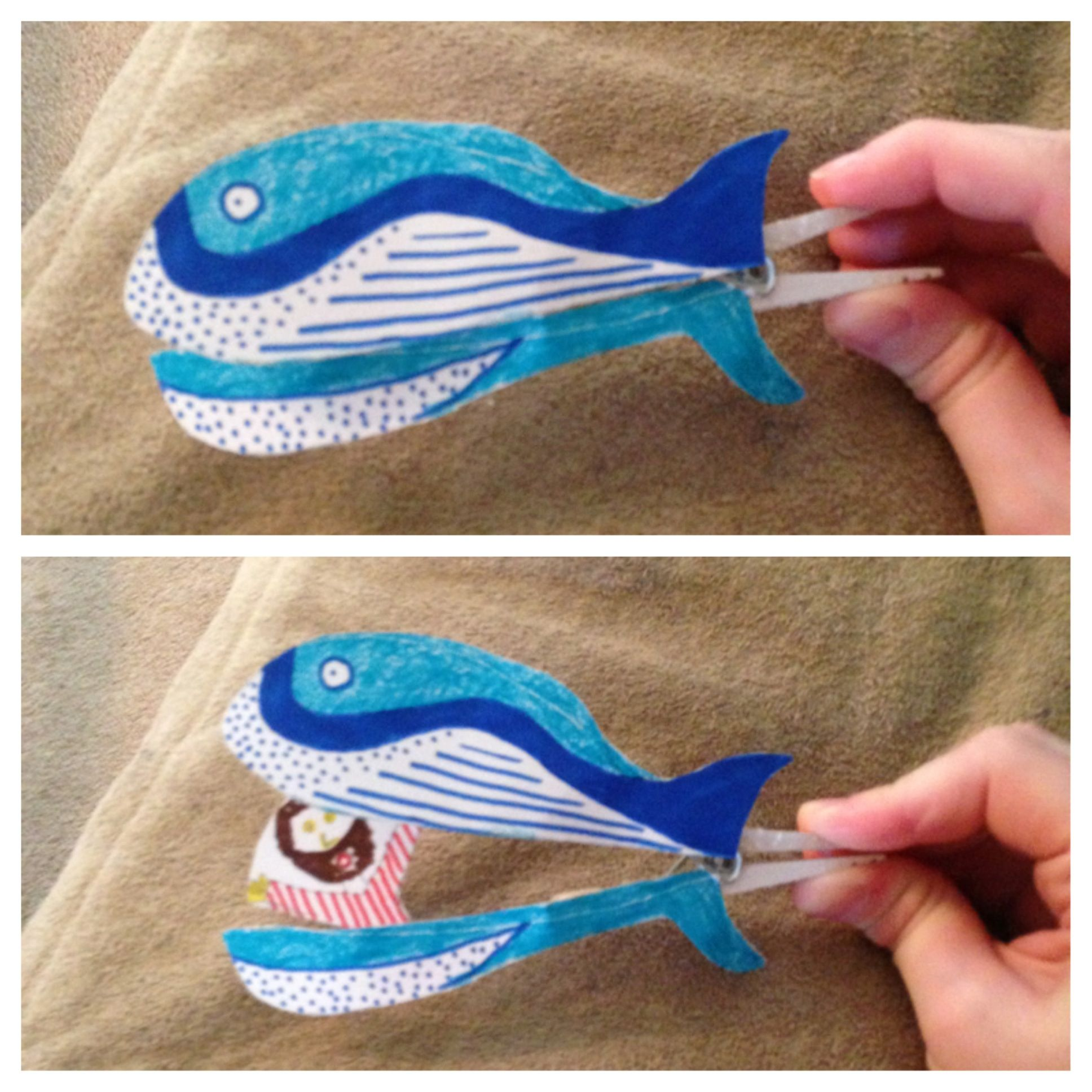 ... and the fish. DIY bible craft. | Children's Church ideas | Pinterest