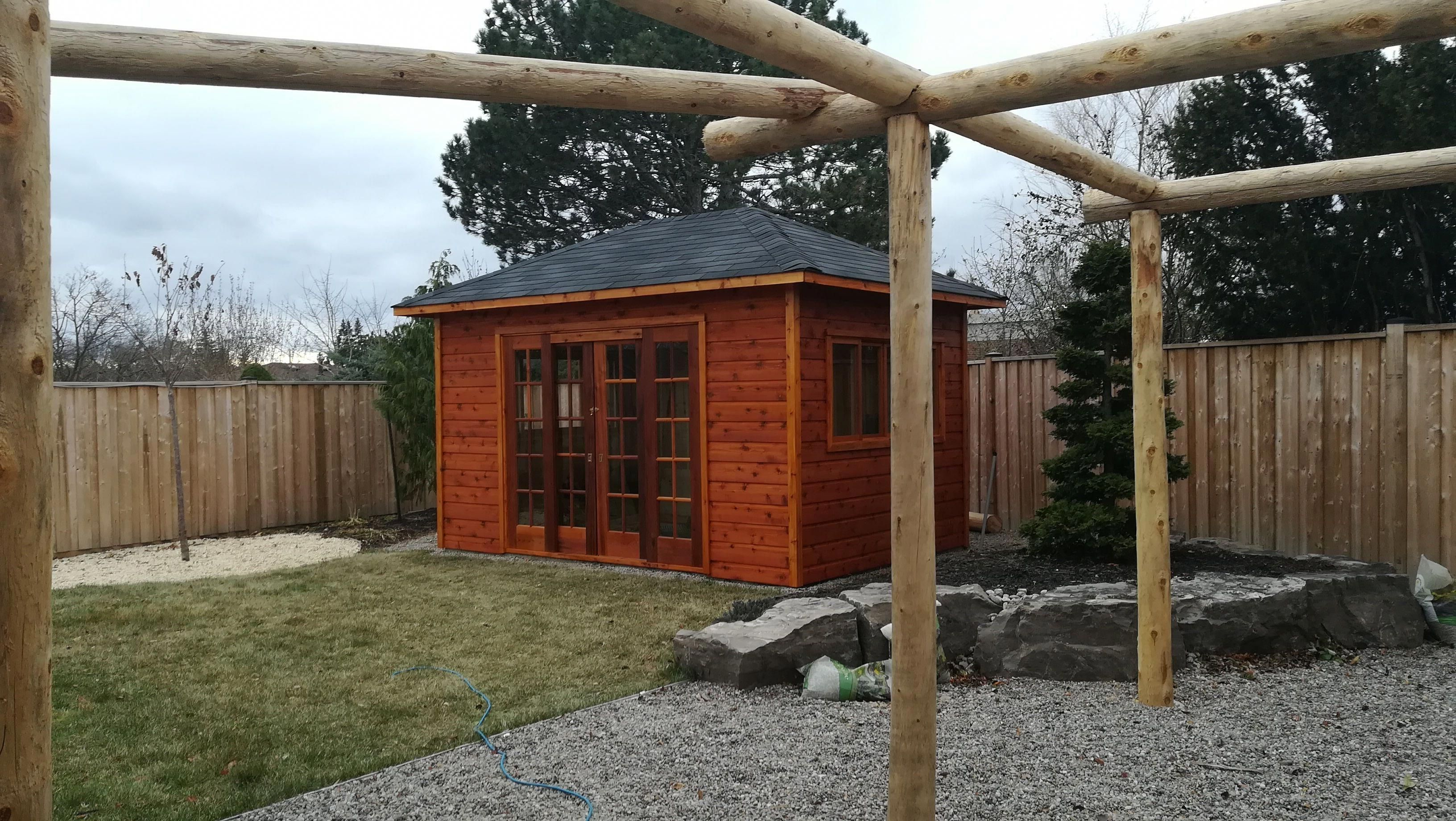 10 X 14 Sonoma Garden Shed In Brampton Ontario Shedbuildingideas With Images Garden Shed Kits Garden Shed Building A Shed