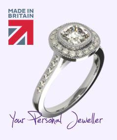 Bespoke Engagement Rings London Hatton Garden Ring Designer Bespoke Engagement Ring Engagement Rings London Art Deco Engagement Ring