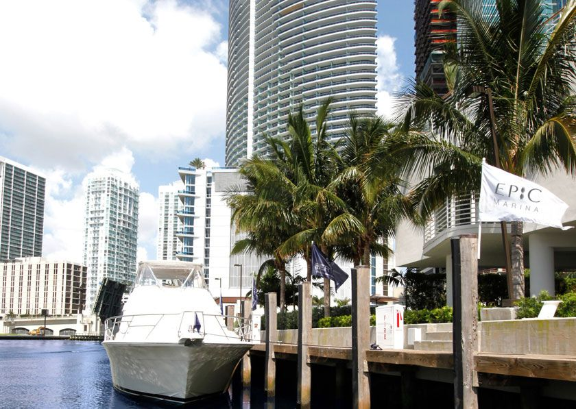 EPIC Hotel..this is where my mom and I stayed in Miami