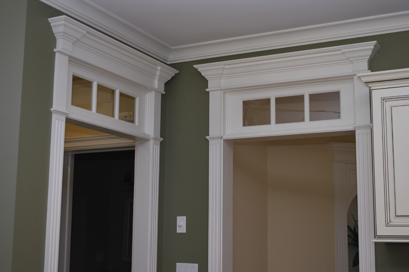 Integrate Window And Door Trim With Wainscoting Panels French Doors French Doors Interior Transom Windows