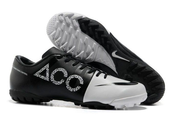 Nike GS Green Speed Concept II ACC TF Mens Astro Turf Soccer Cleats With White and Black