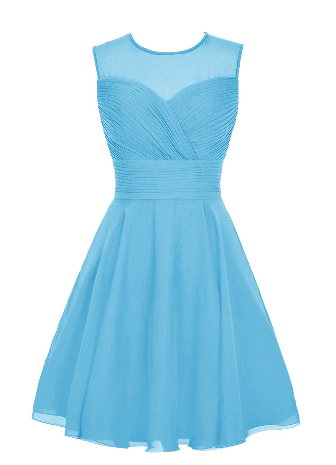 Wedtrend Women\'s Short Tulle Sweetheart Homecoming Dress Bridesmaid ...
