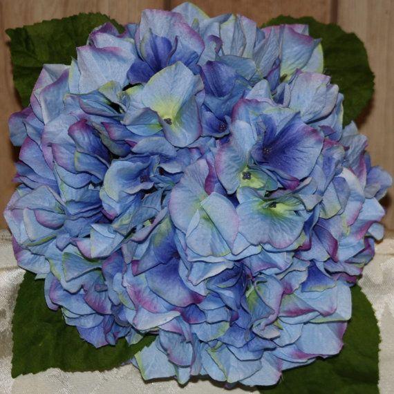 Bridal Bouquet Light Blue Hydrangea