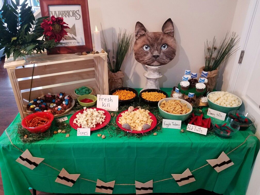 Pin By Wendi Choiniere On Sophia Warrior Cat Party Pinterest
