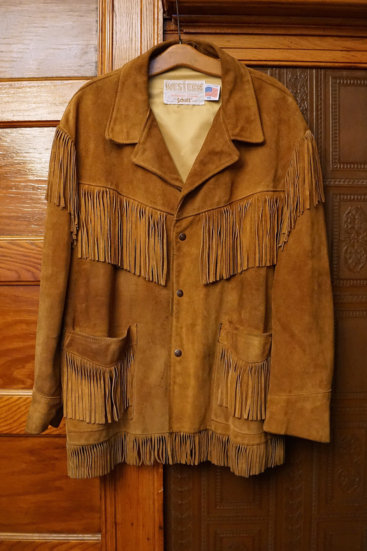 8c267f444 Vintage Fringe Suede Easy Rider Western Jacket | Art Reference ...
