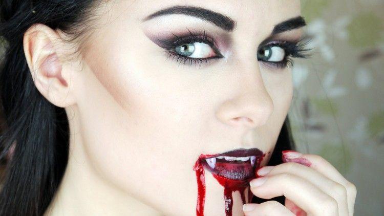 maquillage halloween facile r aliser pour devenir zombie. Black Bedroom Furniture Sets. Home Design Ideas