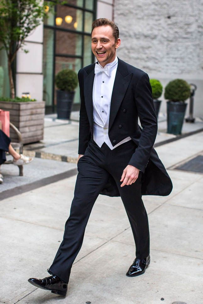 Image result for tom hiddleston met gala
