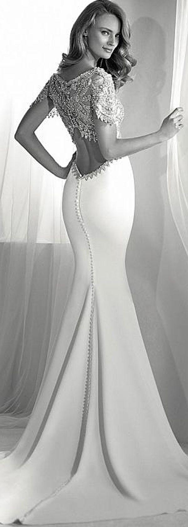 Mermaid wedding dresses marvelous tulle u acetate satin jewel