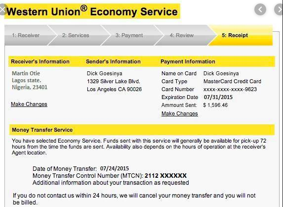 How To Send Money Through Western Union Money Transfer