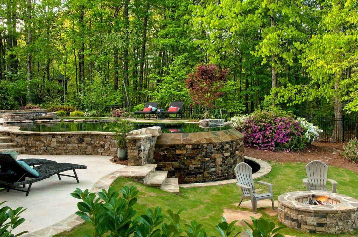 Pin On Lake House Shore house backyard ideas