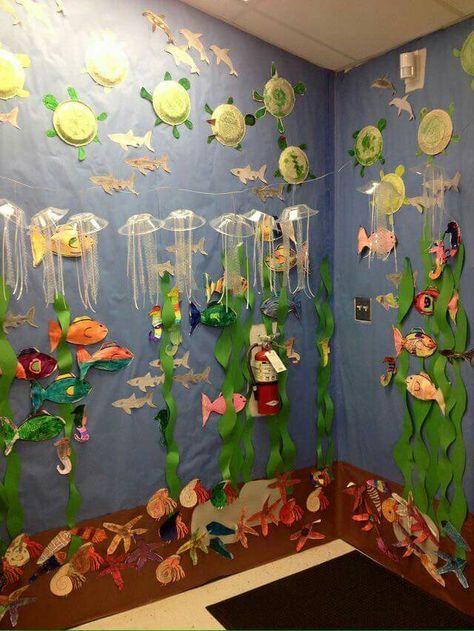 Pin Von Birte Sommer Auf Kunst Schule Pinterest Fondo De Mar