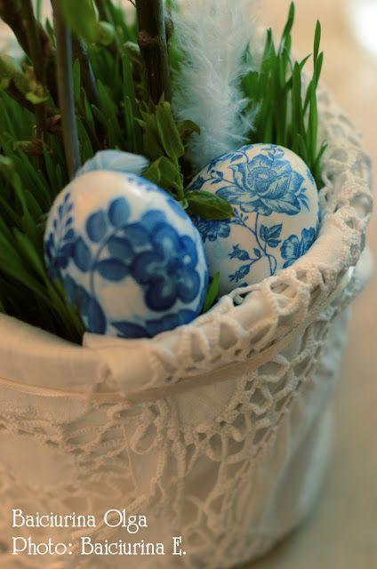 Baiciurina Olga's Design Room: Easter eggs decoration-Декорированние Пасхальных яиц!