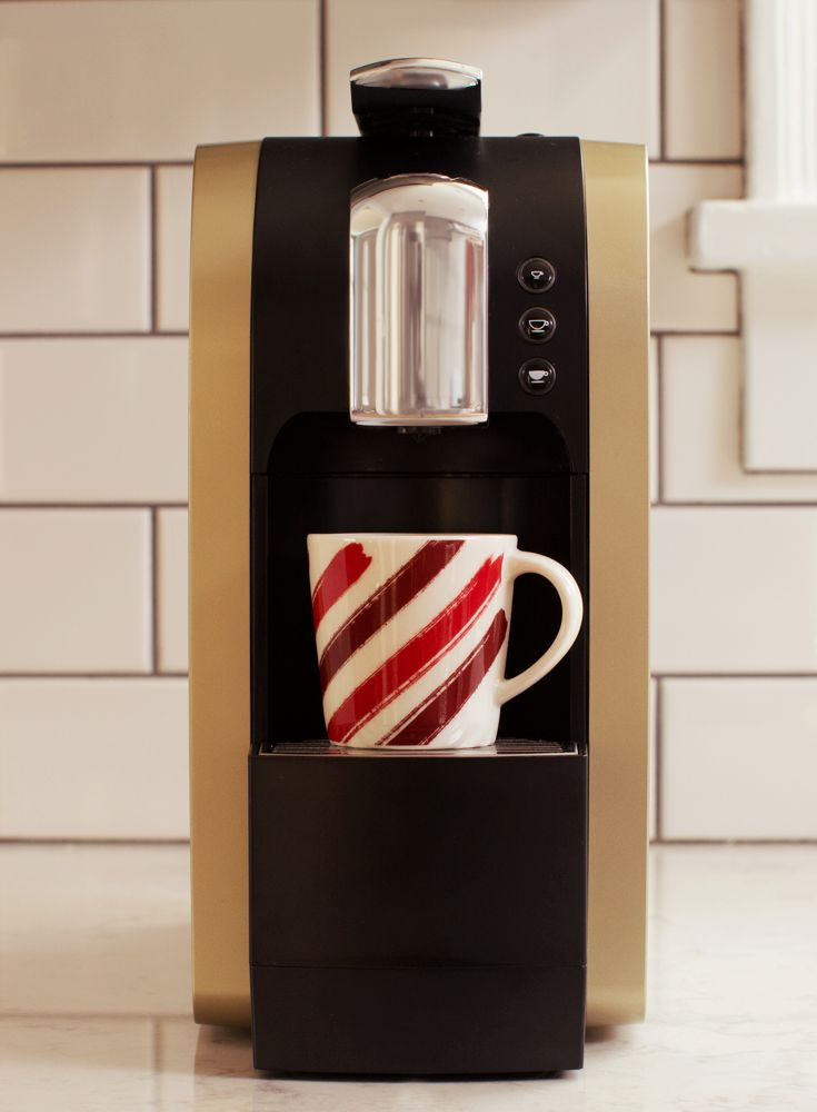 Champagne Coffee Maker ~ Take home the champagne verismo brewer just now