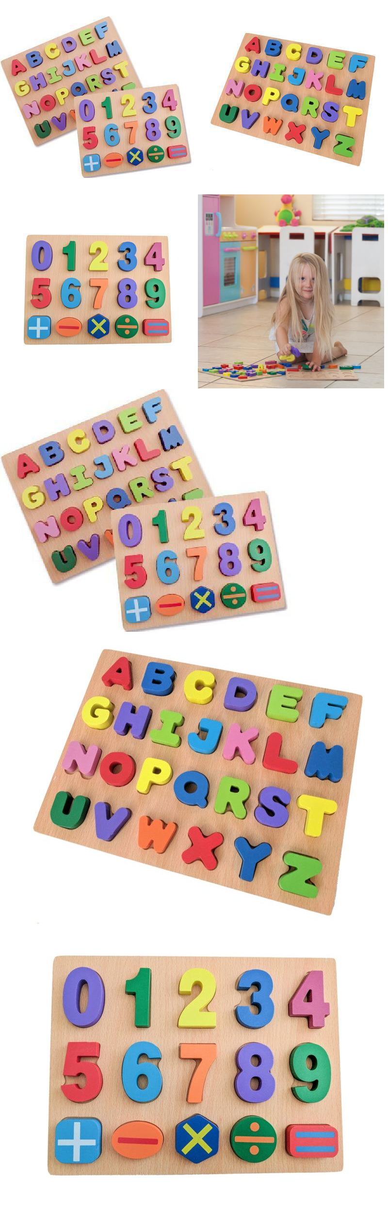 Puzzles Red Apple Early Learning Toys Premium Abc 123