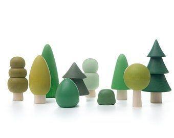 Photo of Conjunto forestal | Conjunto de árboles forestales | Mesa de la naturaleza Waldorf | Decoración infantil | Vivero de bosques | Conjunto de árboles Waldorf | Regalo para niños pequeños | Juguetes para niños