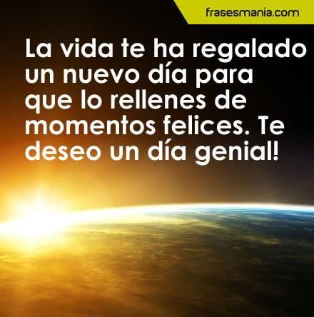 buenos dias para facebook | Imagenes De Buenos Dias Con Frases