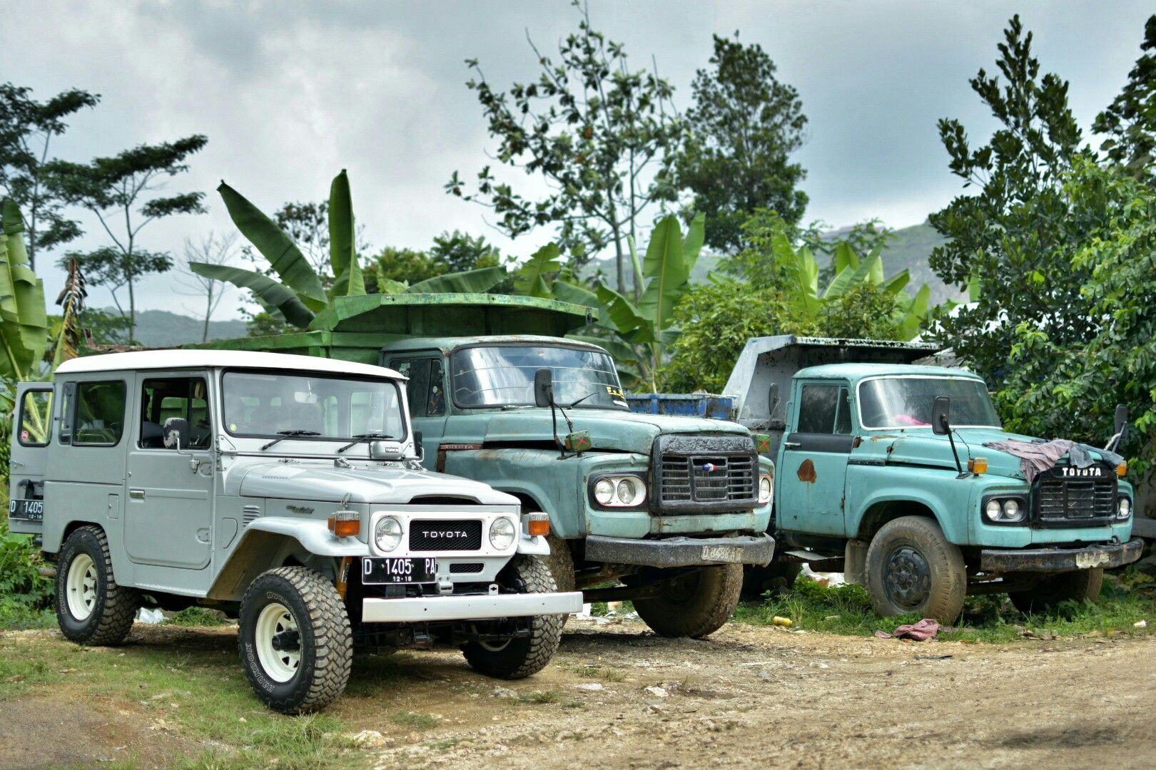 Toyota truck and suv