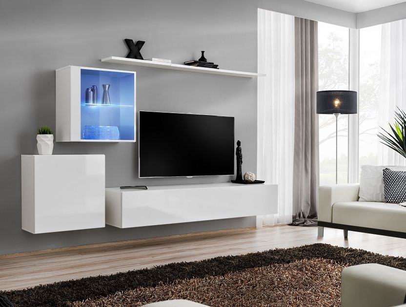 Shift 15 Living Room Entertainment Center Living Room Wall Units Modern Living Room Wall Modern Tv Wall Units