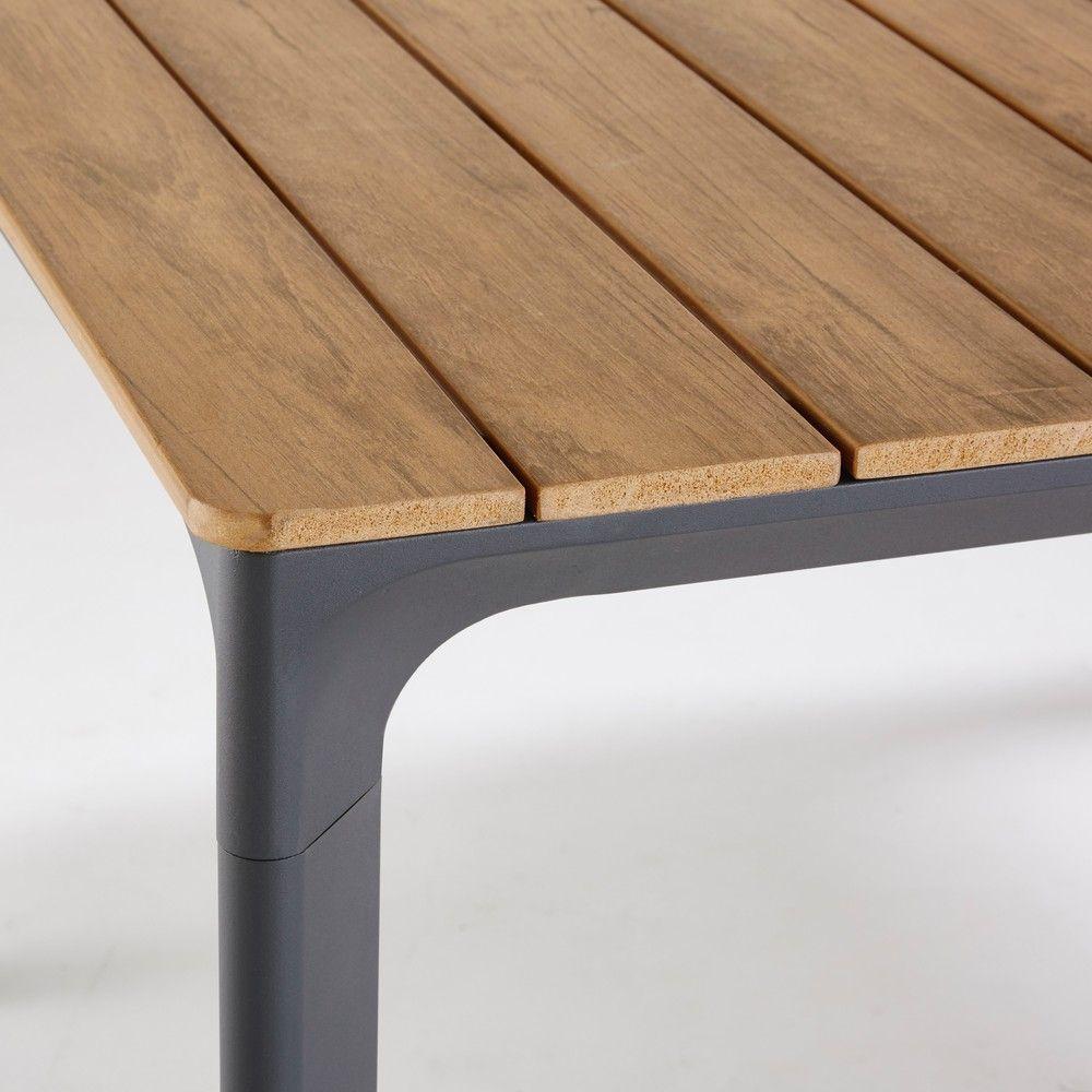 Table De Jardin 6 8 Personnes En Composite Et Aluminium L200