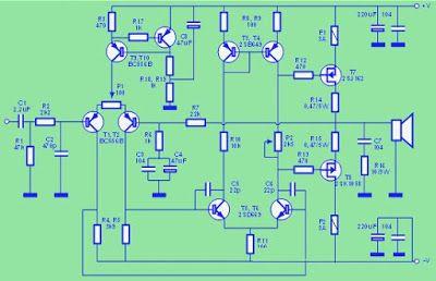 Superb Hi Fi Mosfet Power Amplifier 2Sj162 2Sk105 In 2019 Techies Corner Wiring Digital Resources Bemuashebarightsorg