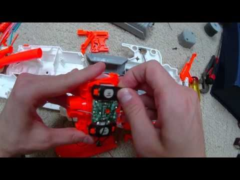 The ULTIMATE Nerf Modulus ECS-10 Mod Guide (Rewire, Lock Removal