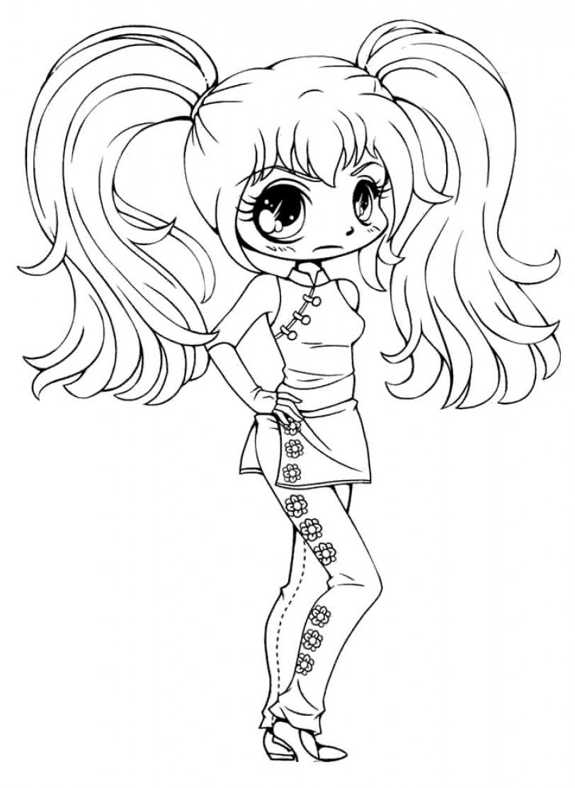 Gacha Life Coloring Pages Chibi For Girls In 2021 Witch Coloring Pages Cute Coloring Pages Mermaid Coloring Pages