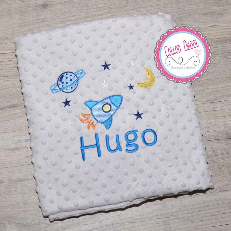 Manta Bebe Personalizada Con Nombre Y Bonitos Para Dibujos Nina Cotton Sweet Bebe Personalizado Mantas Bebe Personalizadas Canastillas De Bebe