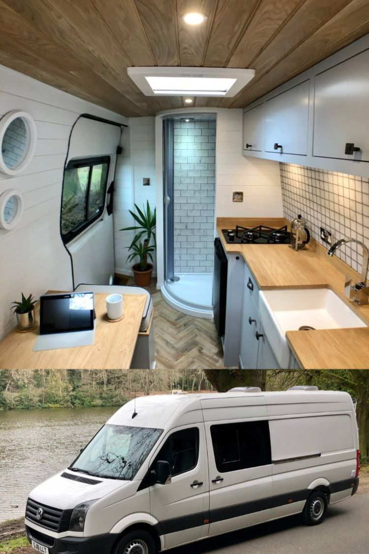 Photo of Stunning Volkswagon Crafter Van both inside and out.