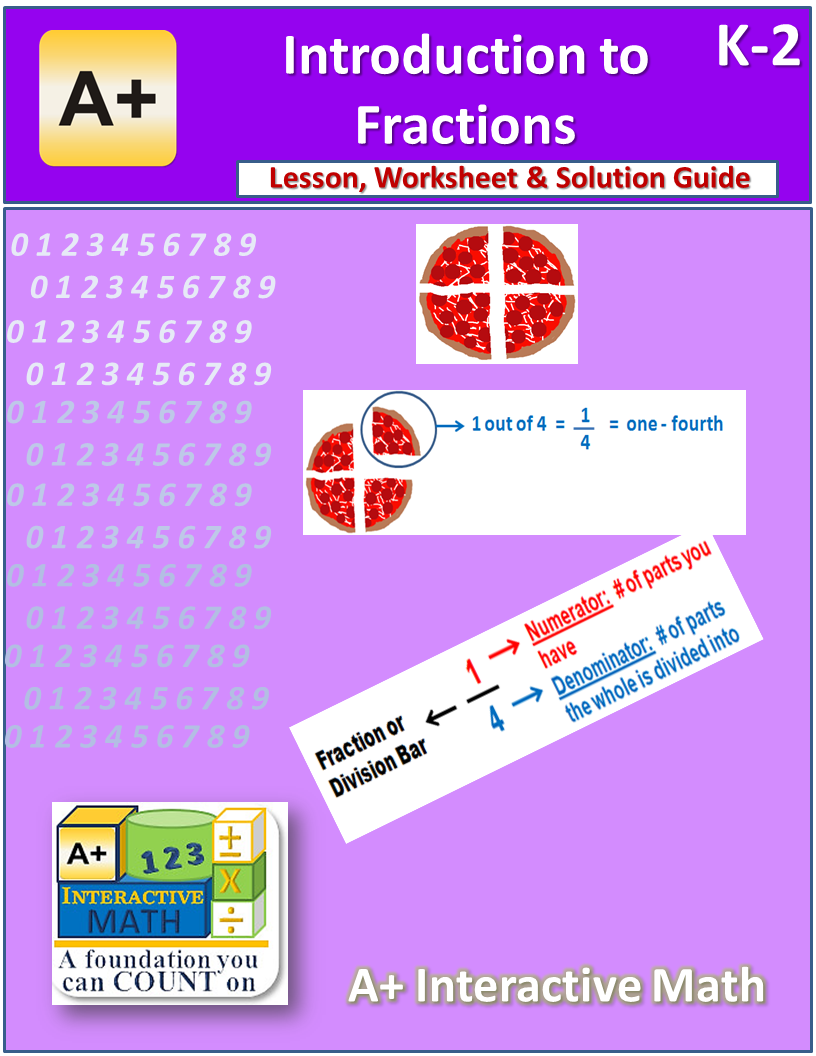 FREE Introduction to Fractions Unit (K2, Lesson